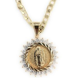 Guadalupe necklace Gold plated
